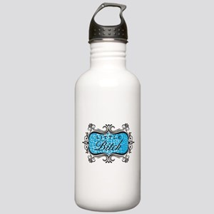 Blue Little Bitch Stainless Water Bottle 1.0L