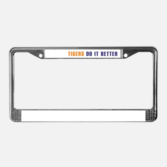Tigers License Plate Frame