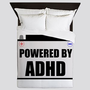 Powered By ADHD Queen Duvet