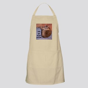 Ask Me After Coffee Apron