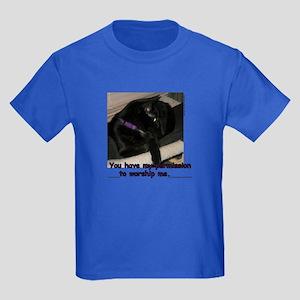 Worship Me... Kids Dark T-Shirt