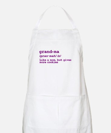 Grandma and Grandpa Just Like Apron