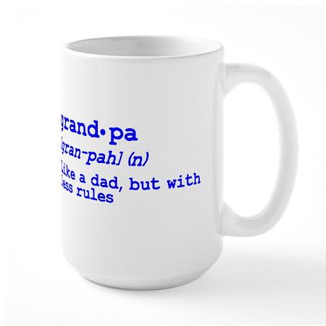 Grandma and Grandpa Just Like Large Mug