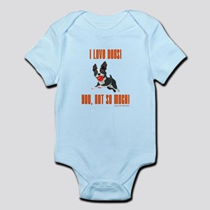 I LOVE DOGS! Body Suit