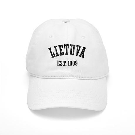 Distressed Lietuva Est. 1009 Cap