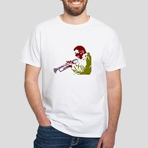 miles White T-Shirt