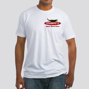 STUMPY'S GATOR REMOVAL SERVIC Fitted T-Shirt