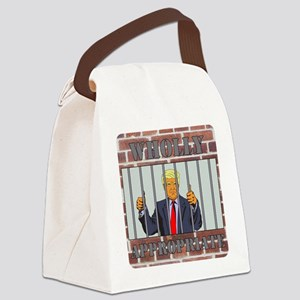 Wholly Appropriate Canvas Lunch Bag