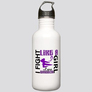 Fight Like A Girl Lupus Stainless Water Bottle 1.0
