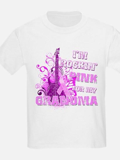 I'm Rockin' Pink for my Grandma T-Shirt