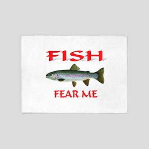 FISH 5'x7'Area Rug