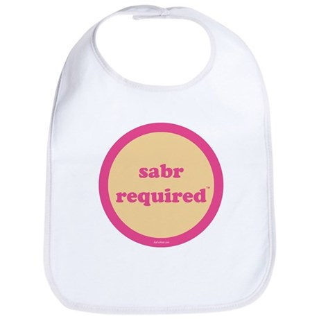 Sabr Required Bib (yellow + pink)