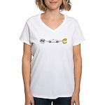Supercharger fun Women's V-Neck T-Shirt