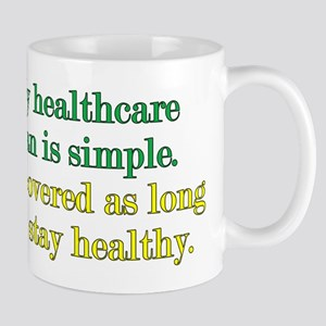 Poor Healthcare Plan Mug
