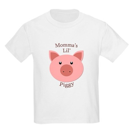 Momma's Lil' Piggy Kids Light T-Shirt