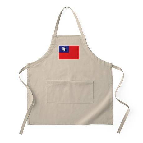 Taiwan Flag Apron