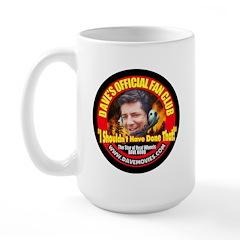 Dave Fan Club Large Mug