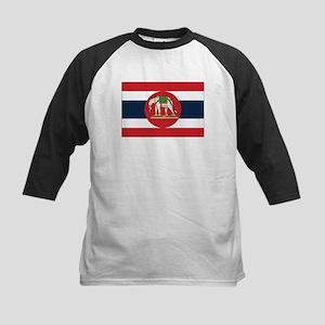 Thailand Naval Ensign Kids Baseball Jersey