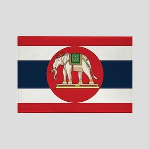 Thailand Naval Ensign Rectangle Magnet
