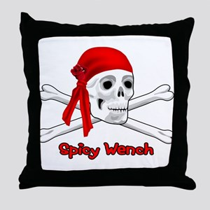 Spicy Wench Throw Pillow