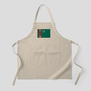 Turkmenistan Flag Apron