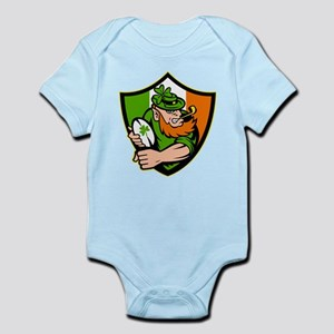 Irish leprechaun rugby Infant Bodysuit