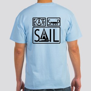 Eat Sleep Sail Light T-Shirt