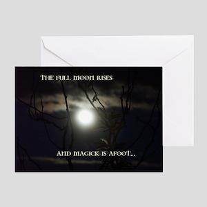 Full Moon Magick Greeting Card