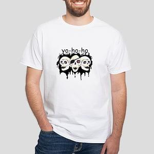 Yo-ho-ho Pirate Products White T-Shirt