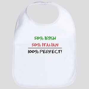 Half Irish Half Italian Bib