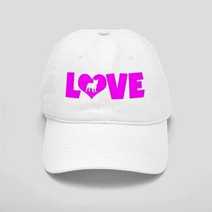 LOVE FRENCH BULLDOG Cap
