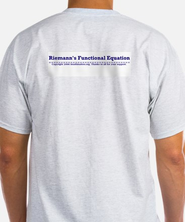 What part of Riemann's? Ash Grey T-Shirt