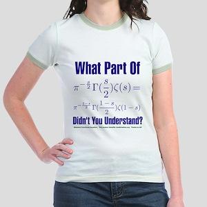 What part of Riemann's? Jr. Ringer T-Shirt