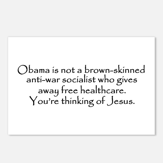 You're Thinking of Jesus Postcards (Package of 8)