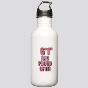 6 foot 1 Stainless Water Bottle 1.0L