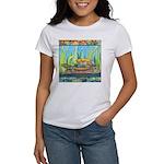 Tie Dye Turtle Watercolor Women's T-Shirt