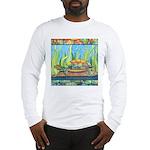 Tie Dye Turtle Watercolor Long Sleeve T-Shirt