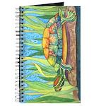 Tie Dye Turtle Watercolor Journal