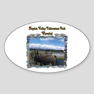 Hayden Valley Sticker (Oval)