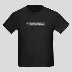 Achievement Unlocked : Turned Kids Dark T-Shirt