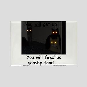 Gooshy Food Rectangle Magnet