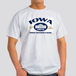 Iowa - First in the Nation Light T-Shirt
