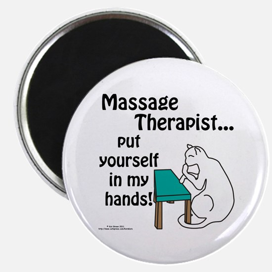Massage Therapist Magnet