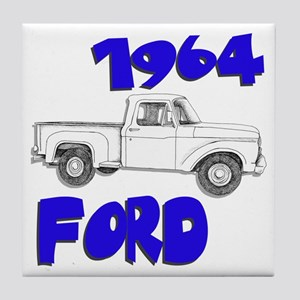 1964 Ford Truck Tile Coaster