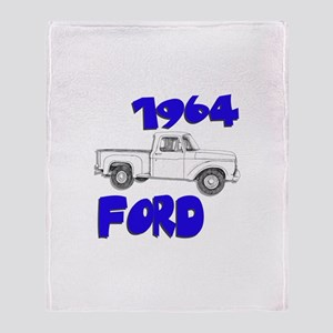 1964 Ford Truck Throw Blanket