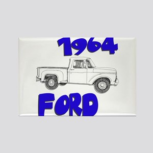 1964 Ford Truck Rectangle Magnet