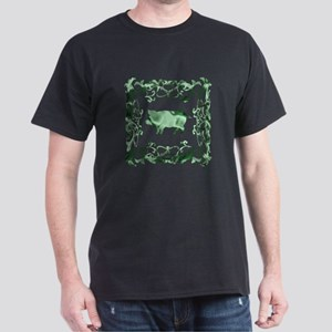 Pig Lattice Dark T-Shirt