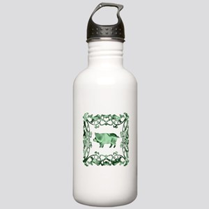Pig Lattice Stainless Water Bottle 1.0L