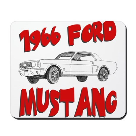 1966 Ford Mustang Mousepad
