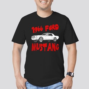 1966 Ford Mustang Men's Fitted T-Shirt (dark)